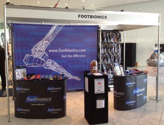 footbionics booth