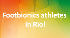 Footbionics athletes in Rio